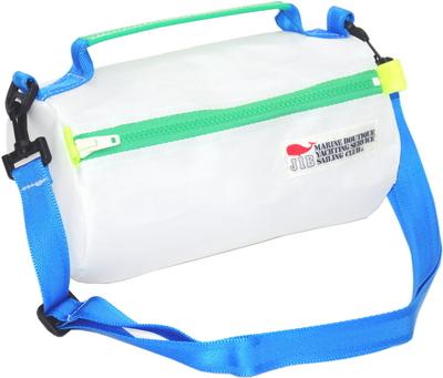 JIB セイルバッグ SS43 ホワイト×グリーンファスナー/ブルーショルダー