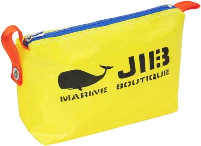 JIB ポーチ PO36 イエロー×ブルーファスナー/オレンジ耳