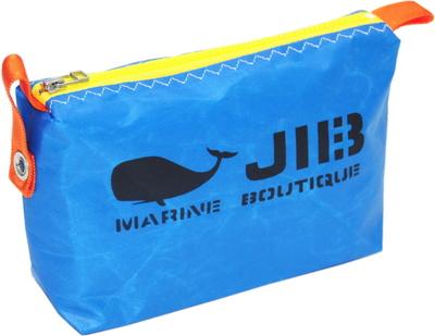 JIB ポーチ PO36 ロケットブルー×イエローファスナー/オレンジ耳
