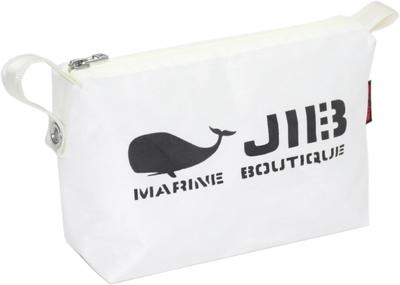 JIB ポーチ PO36 ホワイト×ホワイトファスナー