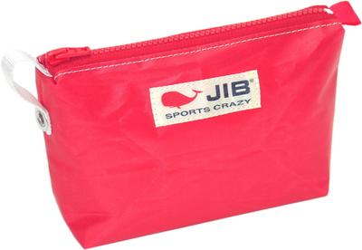 JIB フィンガーポーチ FPO22 レッド×レッドファスナー