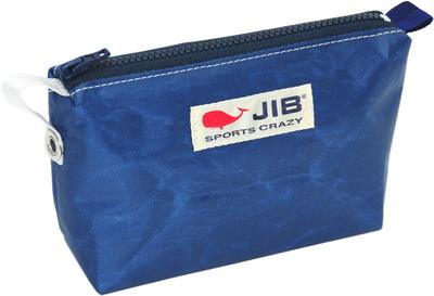 JIB フィンガーポーチ FPO22 ネイビー×ネイビーファスナー/ホワイト刺繍タグ