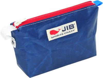 JIB フィンガーポーチ FPO22 ネイビー×レッドファスナー/ブルーみみ