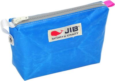 JIB フィンガーポーチ FPO22 ロケットブルー×グレーファスナー/ピンクみみ