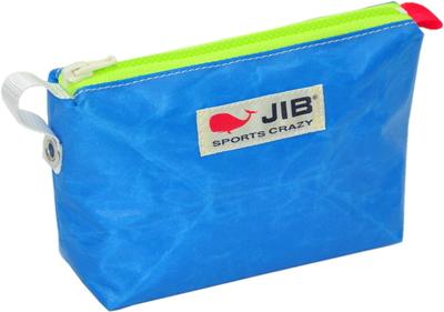 JIB フィンガーポーチ FPO22 ロケットブルー×蛍光グリーンファスナー/レッドみみ