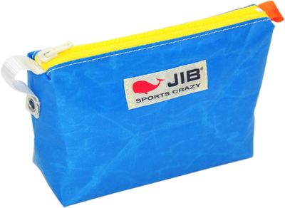 JIB フィンガーポーチ FPO22 ロケットブルー×イエローファスナー/オレンジみみ