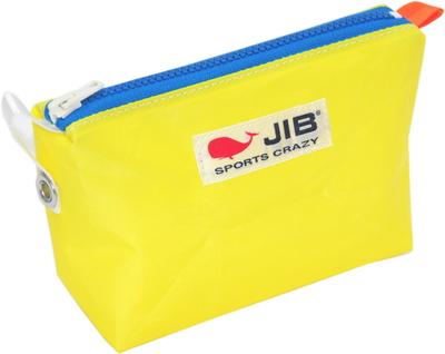 JIB フィンガーポーチ FPO22 イエロー×ブルーファスナー/オレンジみみ