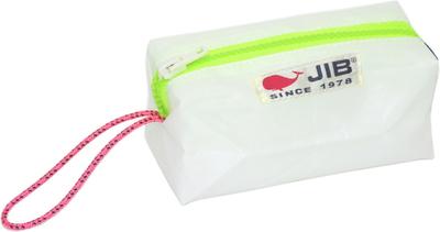 JIB シーピッグ SP14 ホワイト×蛍光グリーンファスナー