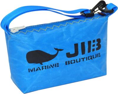 JIB ハンドルポーチS HPOS26 ロケットブルー×イエローステッチ