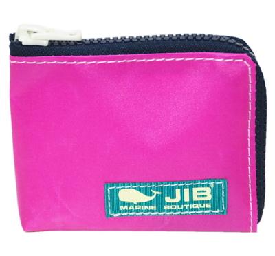 JIB マイクロクラッチ MC14 ピンク×ダークネイビー/グリーンタグ