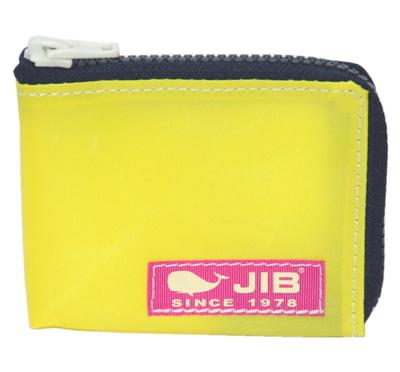 JIB マイクロクラッチ MC14 イエロー×ダークネイビー/ピンクタグ