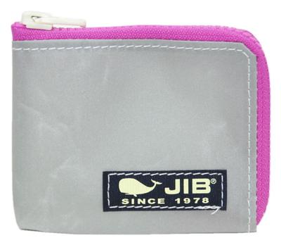 JIB マイクロクラッチ MC14 グレー×ピンク/ダークネイビータグ