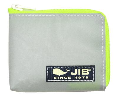 JIB マイクロクラッチ MC14 グレー×蛍光グリーン/ダークネイビータグ