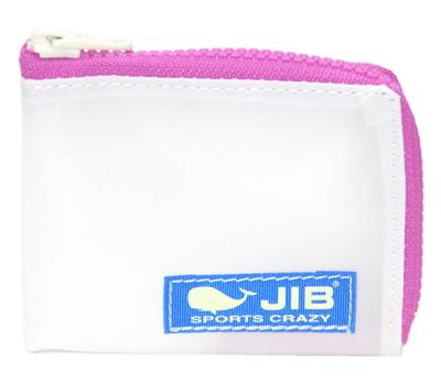 JIB マイクロクラッチ MC14 ホワイト×ピンク/ブルータグ