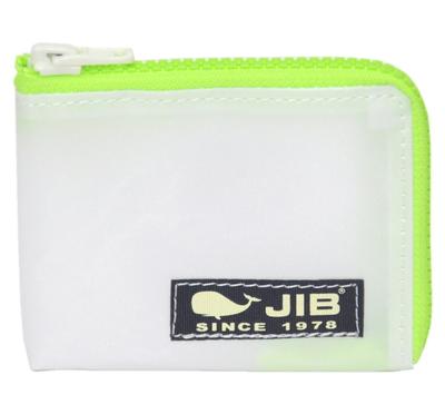 JIB マイクロクラッチ MC14 ホワイト×蛍光グリーン/ダークネイビータグ