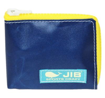 JIB マイクロクラッチ MC14 ネイビー×イエロー/スカイタグ