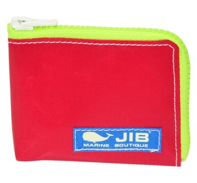 JIB マイクロクラッチ MC14 レッド×蛍光グリーン/ブルータグ