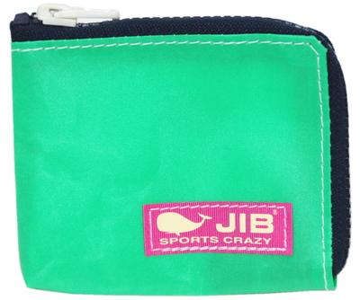 JIB マイクロクラッチ MC14 エメラルドグリーン×ダークネイビー/ピンクタグ