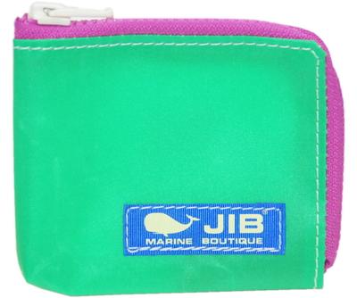 JIB マイクロクラッチ MC14 エメラルドグリーン×ピンク/ブルータグ
