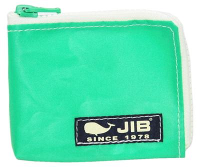 JIB マイクロクラッチ MC14 エメラルドグリーン×ホワイト/ダークネイビータグ