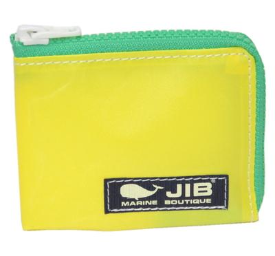 JIB マイクロクラッチ MC14 イエロー×グリーン/ダークネイビータグ