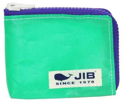 JIB マイクロクラッチ MC14 エメラルドグリーン×パープル/ホワイトタグ