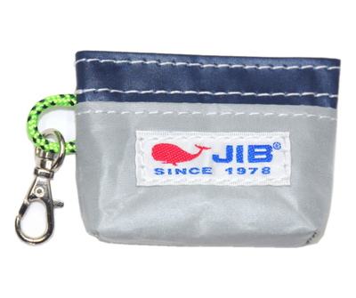JIB コインケース CC12 グレー×ネイビー