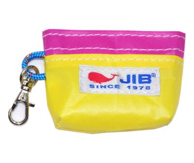 JIB コインケース CC12 イエロー×ピンク