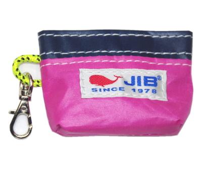 JIB コインケース CC12 ピンク×ネイビー