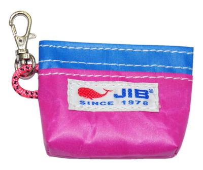 JIB コインケース CC12 ピンク×ブルー