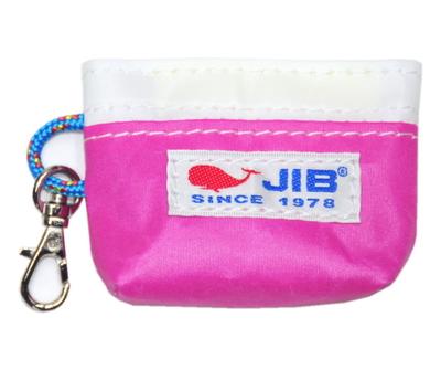 JIB コインケース CC12 ピンク×ホワイト