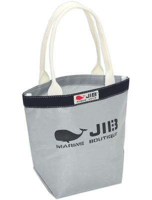 JIB バケツSS BKSS28 グレー×ネイビー/ホワイトハンドル