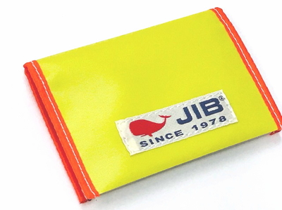 JIB カードブックケース CBC16 イエロー×オレンジ