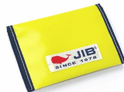 JIB カードブックケース CBC16 イエロー×ネイビー