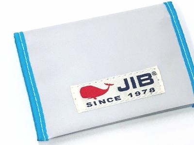 JIB カードブックケース CBC16 ホワイト×ライトブルー