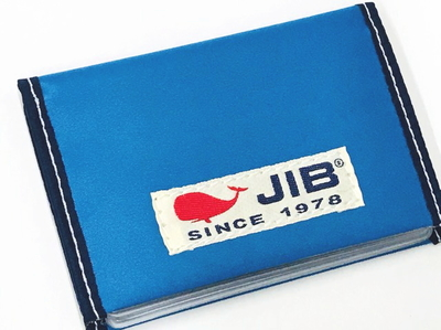 JIB カードブックケース CBC16 ロケットブルー×ネイビー