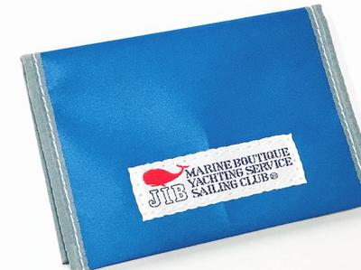 JIB カードブックケース CBC16 ロケットブルー×グレー