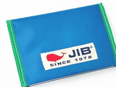 JIB カードブックケース CBC16 ロケットブルー×グリーン