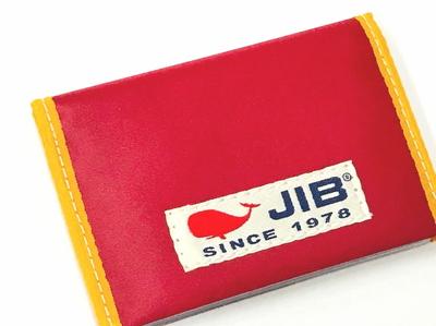 JIB カードブックケース CBC16 レッド×イエロー