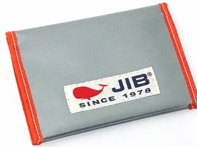 JIB カードブックケース CBC16 グレー×オレンジ