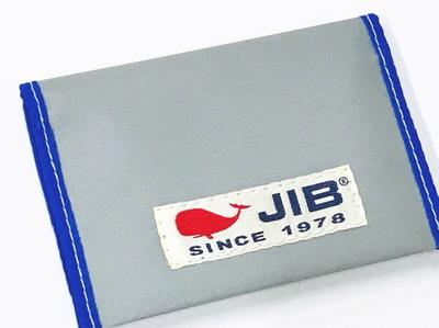 JIB カードブックケース CBC16 グレー×ブルー
