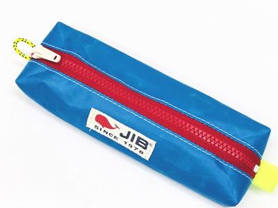 JIB ペンケースM PCM16 ロケットブルー×レッドファスナー
