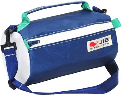 JIB セイルバッグ SS43 ネイビー×ホワイトファスナー/ネイビーショルダー