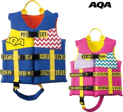 AQA エーキューエー スノーケリングジャケットジュニア  KA-9024 子ども用