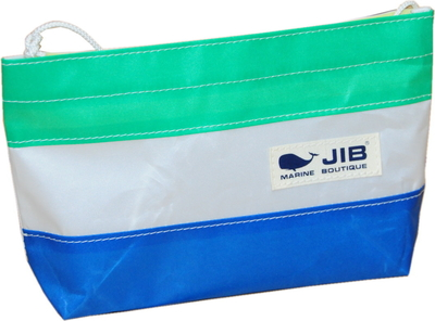 JIB バリットポシェットL BPL30 ロケットブルー×エメラルドグリーン