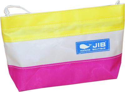 JIB バリットポシェットL BPL30 ピンク×イエロー