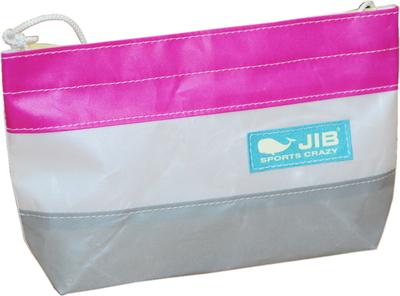 JIB バリットポシェットL BPL30 グレー×ピンク