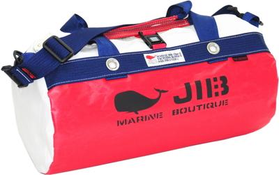 JIB ダッフルバッグS DS130 レッド×ネイビー