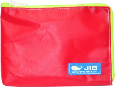 JIB マイクロクラッチラージM MCM28 レッド×蛍光グリーン/ブルータグ