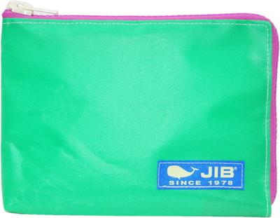 JIB マイクロクラッチラージM MCM28 エメラルドグリーン×ピンク/ブルータグ